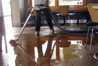 Sewage Damage Cleaning in Fullerton, CA (7728)